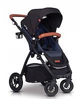 Детская прогулочная коляска EasyGo Optimo Air, джинс (9366)