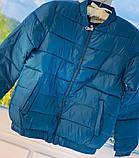 Куртка женская демисезонная. Цвет: синий, бежевый; Размеры: М=42, Л=44, ХЛ=46, фото 2