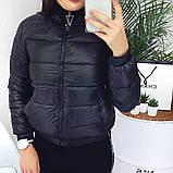 Куртка женская демисезонная. Цвет: синий, бежевый; Размеры: М=42, Л=44, ХЛ=46, фото 8