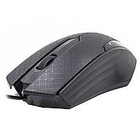Мышь JEQANG JM-029 оптическая игровая компьютерная мышка для ПК ноутбука 1200 DPI Black (672-293)