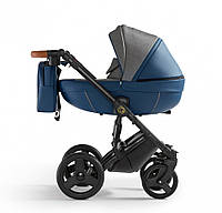 Детская универсальная коляска 2 в 1 Verdi Orion 05, синяя (8268)
