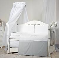 Детская постель с бортиками в кроватку 8 элементов Twins Dolce Loving bear D-010