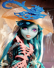 Кукла Monster High Вандала Дублонс (Vandala Doubloons) Населенный призраками Монстер Хай Школа монстров