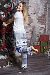 Пижама новогодняя из хлопка П103 Олени, фото 4