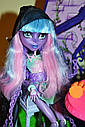 Кукла Monster High Ривер Стикс (River Styxx) из серии Haunted Student Spirits Монстр Хай, фото 5