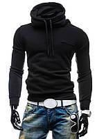 Утепленные мужские толстовки черная