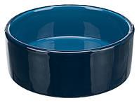 25116 Trixie Миска керамічна темно-синя, темно-синій