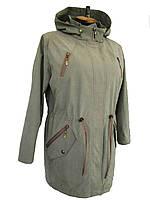 Женская куртка Парка цвета беж