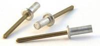 Заклёпка герметичная 4,8x9,5 алюминий / нерж. сталь DIN 7337