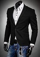 Стильный Мужской Пиджак приталенный  L -XL, фото 1