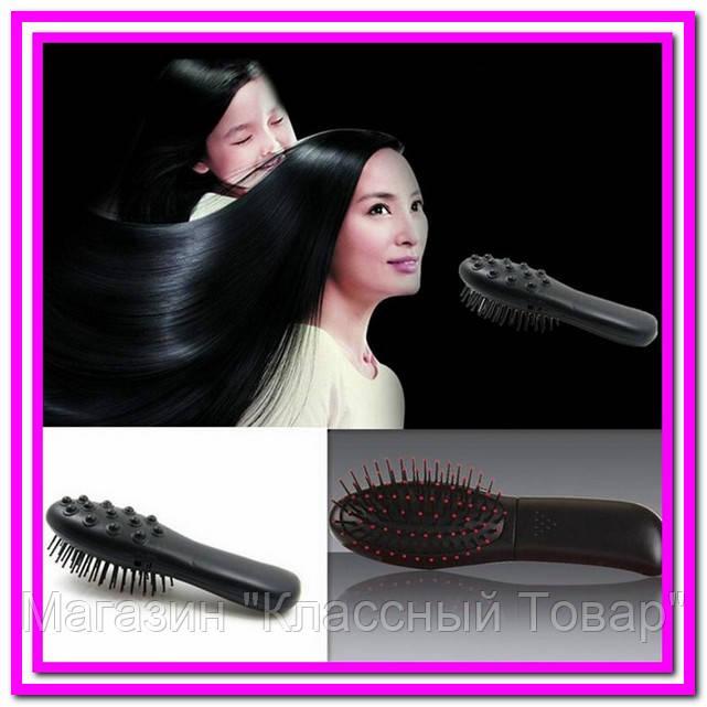 Расческа-вибромассажер массажная Massage Hair Brush RM 709! Лучший подарок