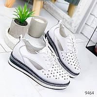 Туфли женские Polly белые 9464