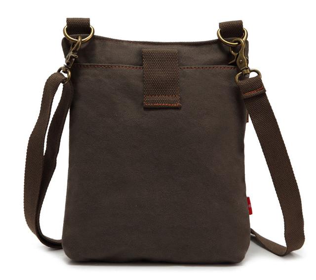 Мужская сумка Augur вид сзади