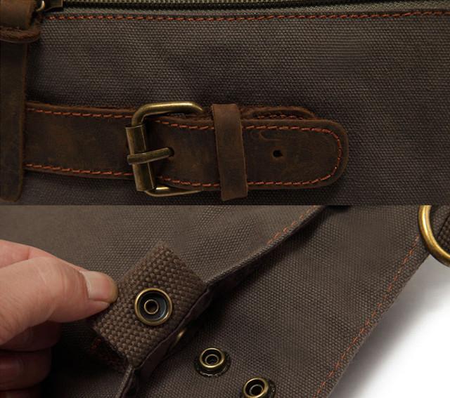 Мужская сумка Augur крупный план