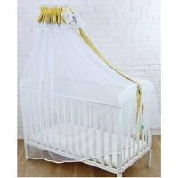 Балдахин для детской кроватки Twins Eco Line универсальный 160х400 см., бежевый