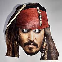 Карнавальная маска Джек Воробей. Пират карибского моря, фото 1