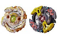 Игрушка Волчки Hasbro BeyBlade СлингШок: GOLD-X BETROMOTHb4 / GALAXY ZEUTRON Z4 (E4604_E4746)