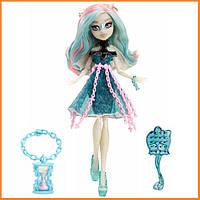 Кукла Monster High Рошель Гойл (Rochelle Goyle) из серии Haunted Getting Ghostly Монстр Хай