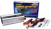 Преобразователь напряжения (инвертор) UKC SAA 1500W DC 12V to AC 220V, выход USB 5V