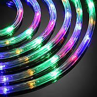 Гирлянда 10 метров уличная в силиконовом шланге Infinilite pro RGB , дюралайт, разноцветный