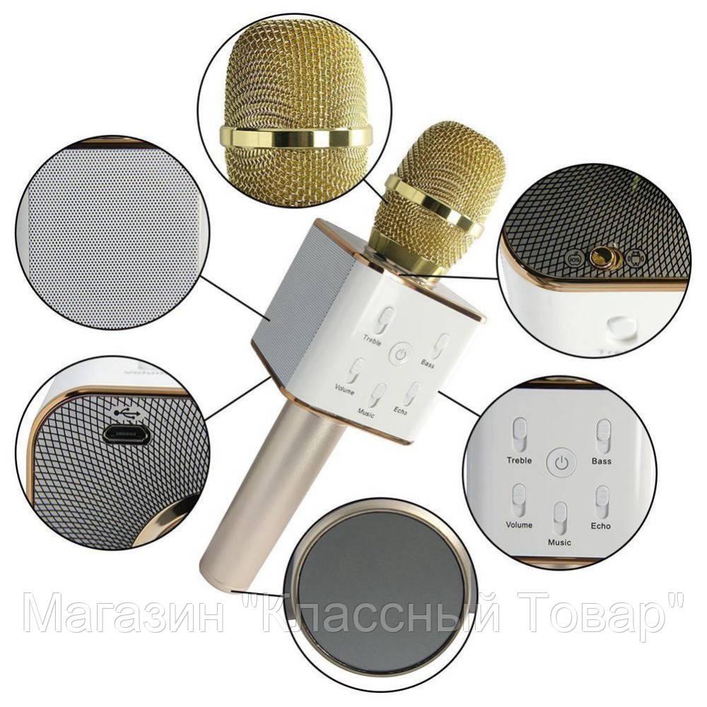 Микрофон Q-7 Wireless Microphone! Лучший подарок