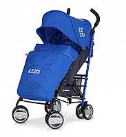Детская прогулочная коляска Euro-Cart Ezzo, cиняя (5170)