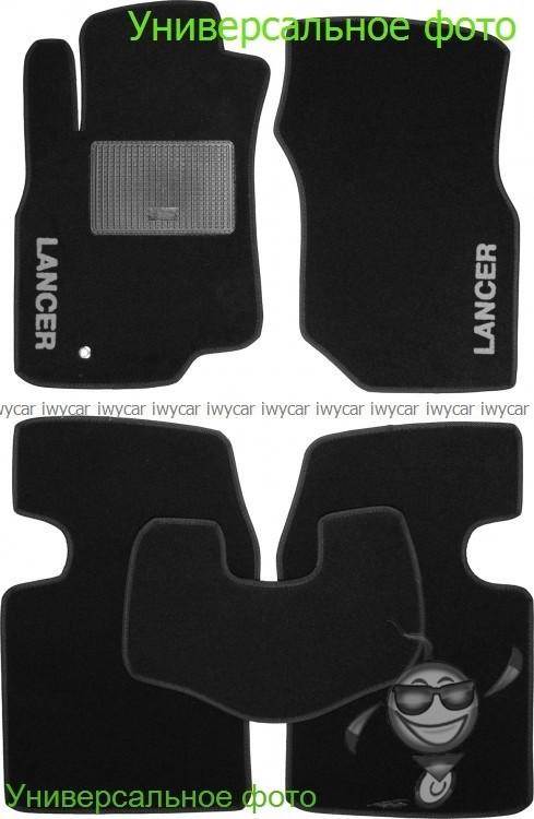 Коврики ворсовые в салон Belmat на Geely GX7 черные