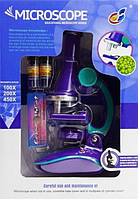 """Набір ігровий QUNXING """"Мікроскоп зі світлом Юний професор"""" (C2127)"""