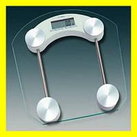Весы напольные квадратные стеклянные 2003B до 180кг! Лучший подарок