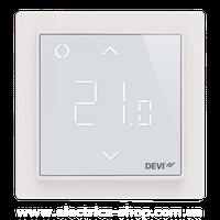 Терморегулятор электронный DEVIreg™ Smart Ivory Wi-Fi, интеллектуальный таймер, слоновая кость
