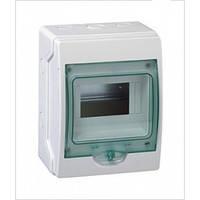 Шкаф накладной, 1ряд/6мод. прозрачная дверь, ІР65 Kaedra Schneider Electric 13977