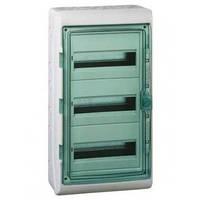 Шкаф накладной, 36 мод (3ряд/12мод.) прозрачная дверь, ІР65 Kaedra Schneider Electric 13985