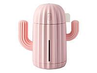 Зволожувач повітря Cactus USB 340 мл  Рожевий