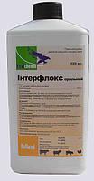 Интерфлокс орал (энрофлоксацин 100 мг) 1 л Interchemie антибиотик широкого спектра действия для цыплят