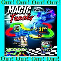 Magic Tracks 165 светодиодная трасса,Гоночная трасса Magic Tracks,Трасса для машинок! Лучший подарок, фото 1