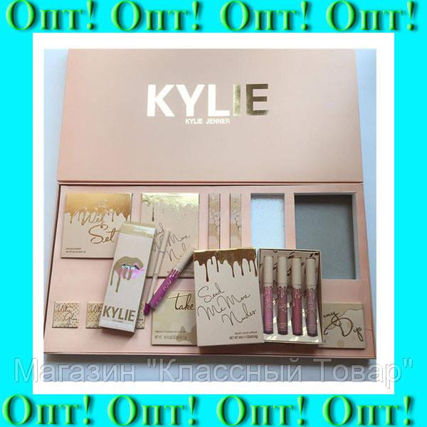"""Набор косметики Kylie """"бежевый""""!Лучший подарок"""