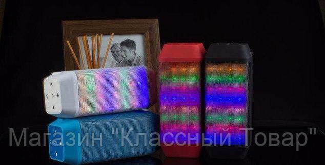 Портативная колонка USB B56 Bluetooth, музыкальная колонка со светомузыкой! Лучший подарок