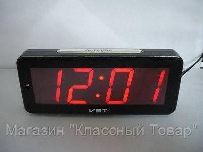 Часы электронные настольные VST 763T-1 (красное табло)!Лучший подарок