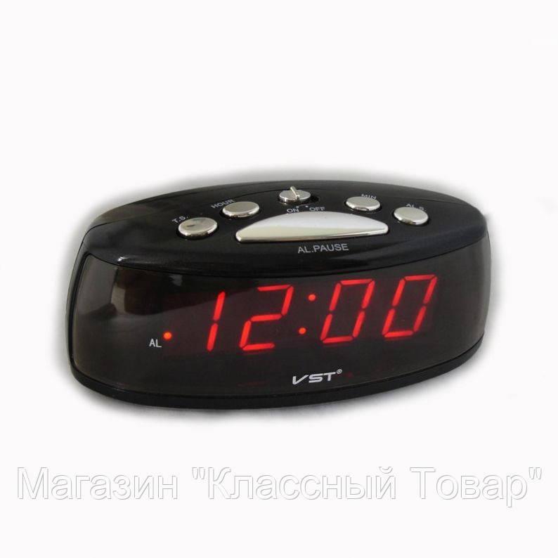 Электронные настольные часы с красной подсветкой VST 773-1! Лучший подарок