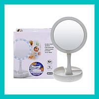 Зеркальце с подсветкой для макияжа flod mirror!Лучший подарок