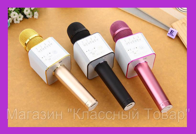 Караоке Микрофон Беспроводной / Bluetooth со встроенным динамиком MicGeek Q9!Лучший подарок