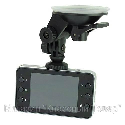 Видеорегистратор для вашего авто dvr k6000, с микрофоном, full hd 1020р, экран 2,7 дюйма, объектив с зумом 4х!Лучший подарок