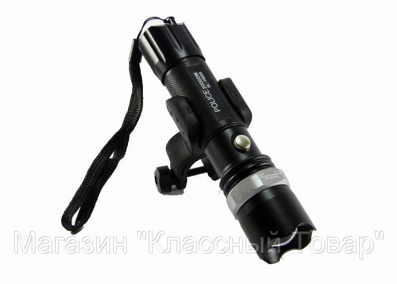 Мощный сверх яркий велосипедной тактический фонарик + вело крепление и комплект Bailong Police BL-8628 99000w!Лучший подарок