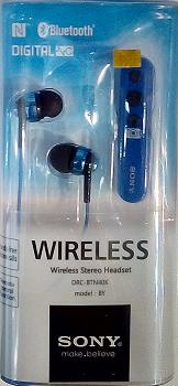 Наушники WIRELESS SONY DRC-BTN 40K Bluetooth!Лучший подарок