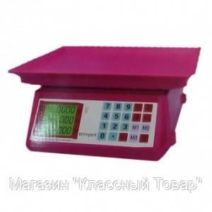 ТОРГОВЫЕ ВЕСЫ WIMPEX 50 kg WX-5018 mini!Лучший подарок