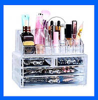 Акриловый органайзер для косметики Cosmetic Storage Box!Лучший подарок, фото 1