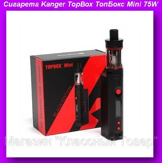 Электронная Сигарета Kanger TopBox ТопБокс Mini 75W,Электронная Сигарета,Электронная Сигарета Mini 75W! Лучший