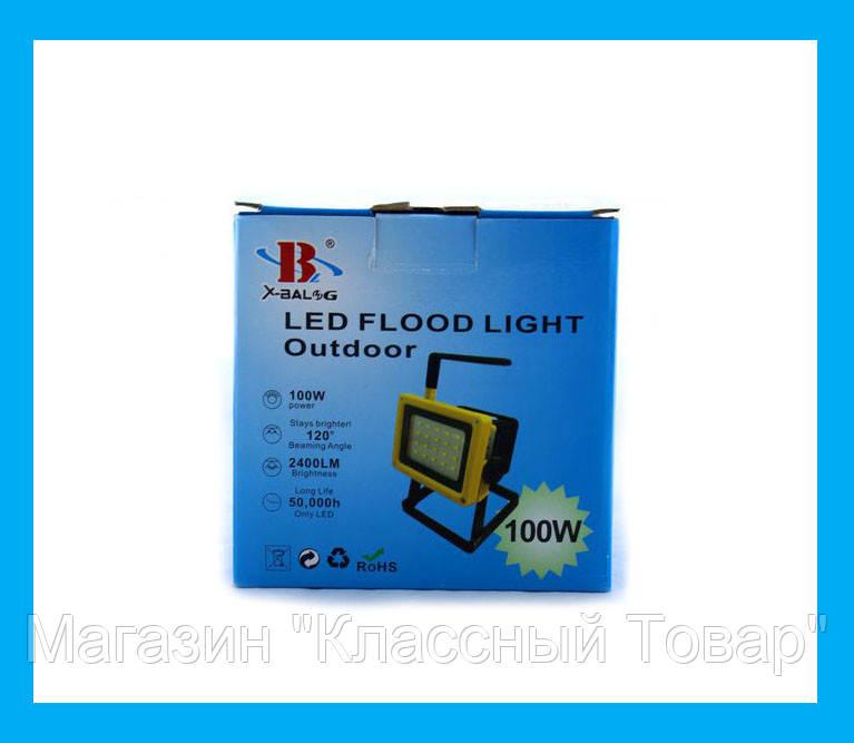 Фонарик ручной прожектор Bailong BL204 100w!Лучший подарок