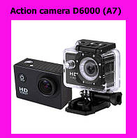 Action camera D6000 (A7)!Лучший подарок