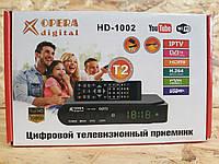 Цифровой Тюнер Т2 OPERA DIGITAL HD-1002 DVB-T2! Лучший подарок, фото 1